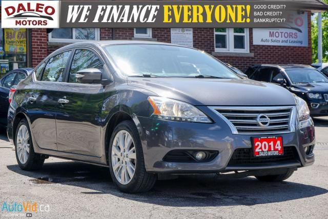 2014 Nissan Sentra SL | LEATHER | NAVI | BLUETOOTH | BACKUP CAM