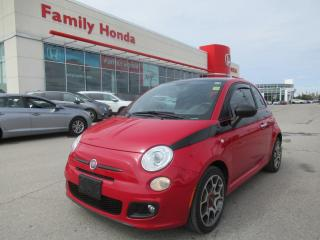 Used 2012 Fiat 500 Sport for sale in Brampton, ON