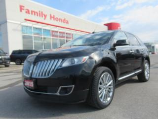 Used 2015 Lincoln MKX FULLY LOADED! for sale in Brampton, ON