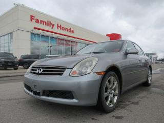 Used 2006 Infiniti G35X LUXURY, FULLY LOADED! for sale in Brampton, ON