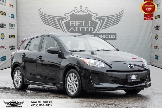 2012 Mazda MAZDA3 GS, SUNROOF,BLUETOOTH,ALLOY WHEEL,A/C,HEATED SEATS
