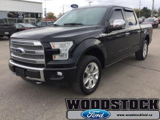 Used 2016 Ford F-150 PLATINUM for sale in Woodstock, ON