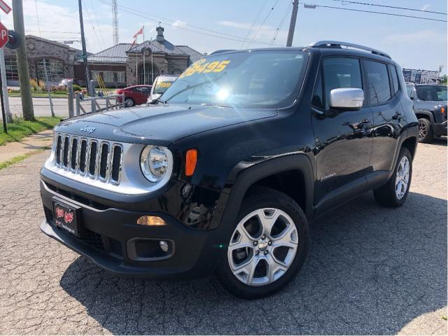 2018 Jeep Renegade Limited 4x4 Leather Navigation Moonroof