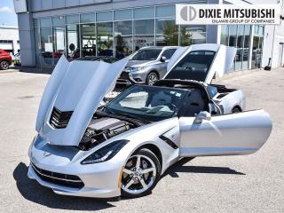Used 2014 Chevrolet Corvette STINGRAY 3LT | TARGA | NAVI | HEADS-UP for sale in Mississauga, ON