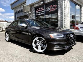 Used 2014 Audi S4 Technik berline 4 portes BA Quattro for sale in Longueuil, QC