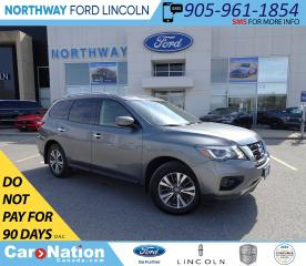 Used 2017 Nissan Pathfinder SV | AWD | PWR HTD SEATS | PUSH START | 3 ROWS | for sale in Brantford, ON