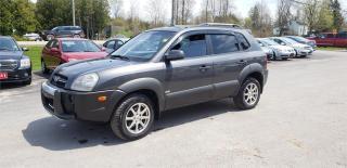 Used 2007 Hyundai Tucson ViVa 4x4 155k safetied GL w/ViVa Pkg for sale in Madoc, ON