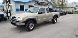 Used 2008 Mazda B-Series Pickup 5 speed 4x4 138k safetied SE for sale in Madoc, ON