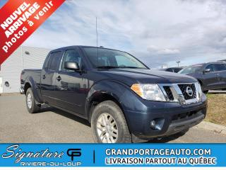 Used 2017 Nissan Frontier crewcab. prolongé 84 /120 km, 4x4,boite for sale in Rivière-Du-Loup, QC