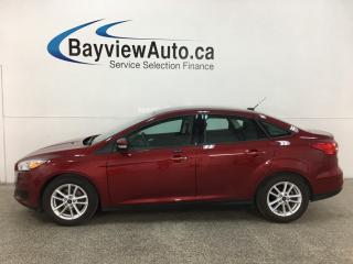 Used 2016 Ford Focus SE - 19,000KMS! AUTO! PWR GROUP! BLUETOOTH! for sale in Belleville, ON