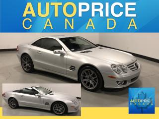 Used 2007 Mercedes-Benz SL-Class CONVERTIBLE|NAVI|LEATHER for sale in Mississauga, ON