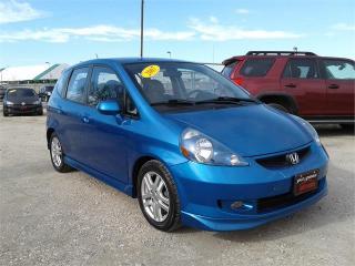 Used 2007 Honda Fit Sport for sale in Oak Bluff, MB