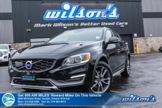 Used 2015 Volvo V60 Cross Country T5 AWD PLATINUM - Sunroof, Navigation, Leather, Climate+Convenience+Technology Packages for sale in Guelph, ON