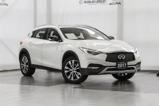 Used 2017 Infiniti QX30 AWD for sale in Langley, BC