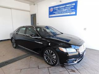 Used 2018 Lincoln Continental Reserve LEATHER NAVI SUNROOF for sale in Listowel, ON