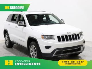 Used 2014 Jeep Grand Cherokee Ltd Awd Cuir for sale in St-Léonard, QC
