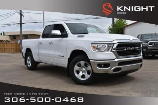 New 2019 RAM 1500 Big Horn | Bluetooth | Back-up Camera | for sale in Swift Current, SK