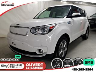 Used 2017 Kia Soul EV LUXURY* CUIR* GPS* CAMERA* VOLANT CHAUFFANT* for sale in Québec, QC