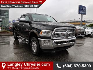 Used 2017 RAM 3500 Laramie - Leather Seats -  Heated Seats for sale in Surrey, BC