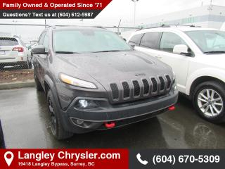 Used 2018 Jeep Cherokee Trailhawk - Bluetooth for sale in Surrey, BC