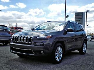 Used 2015 Jeep Cherokee LIMITED 4X4 *V6*CUIR*GPS*ANGLE MORT* for sale in Brossard, QC