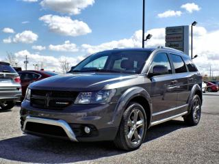 Used 2015 Dodge Journey CROSSROAD AWD *CUIR*TOIT*7 PLACES* for sale in Brossard, QC