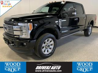 Used 2018 Ford F-350 Platinum CLEAN CARFAX, ONE OWNER, 5TH WHEEL PREP PACKAGE, FULLY LOADED. for sale in Calgary, AB