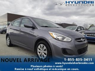 Used 2015 Hyundai Accent LE+AIR CLIMATISÉ+CD/USB/AUXILIAIRE for sale in Sherbrooke, QC