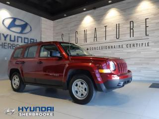 Used 2016 Jeep Patriot BAS KILO! SPORT+DÉMARREUR+A/C+CRUISE for sale in Sherbrooke, QC