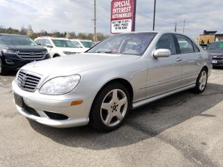 Used 2004 Mercedes-Benz S-Class for sale in Cambridge, ON
