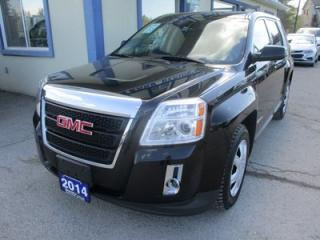Used 2014 GMC Terrain GAS SAVING SLE-2 MODEL 5 PASSENGER 2.4L - ECO-TEC.. TOUCH SCREEN.. BACK-UP CAMERA.. BLUETOOTH SYSTEM.. KEYLESS ENTRY.. for sale in Bradford, ON