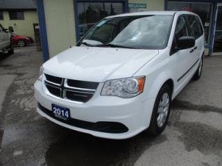 Used 2014 Dodge Grand Caravan FAMILY MOVING SE MODEL 7 PASSENGER 3.6L - V6.. BENCH.. REAR STOW-N-GO.. CD/AUX INPUT.. KEYLESS ENTRY.. for sale in Bradford, ON