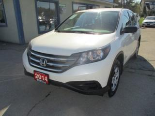 Used 2014 Honda CR-V ALL-WHEEL DRIVE LX EDITION 5 PASSENGER 2.4L - DOHC.. ECON-PACKAGE.. HEATED SEATS.. BLUETOOTH.. BACK-UP CAMERA.. CD/AUX/USB INPUT.. for sale in Bradford, ON