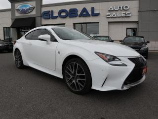 Used 2016 Lexus RC 350 AWD F-SPORT COUPE 22 K  ***SHARP*** for sale in Ottawa, ON