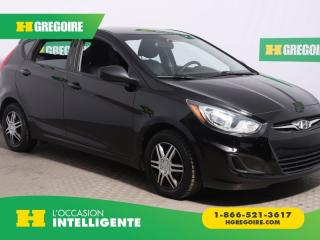 Used 2014 Hyundai Accent GL A/C GR ELECT for sale in St-Léonard, QC