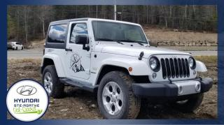Used 2015 Jeep Wrangler BAS KM, 4 RM 2 portes Sahara, 2 TOITS AT for sale in Val-David, QC