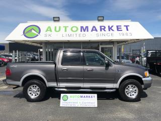 Used 2003 Ford F-150 XLT SuperCrew 4WD FINANCE IT! for sale in Langley, BC