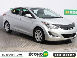Used 2014 Hyundai Elantra GL A/C GR ELECT for sale in St-Léonard, QC