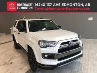 New 2019 Toyota 4Runner SR5 V6 | Nightshade for sale in Edmonton, AB