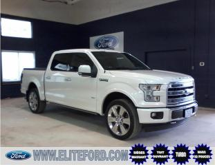 Used 2017 Ford F-150 SCREW, LIMITED, CUIR, ÉCOBOOST for sale in St-Jérôme, QC