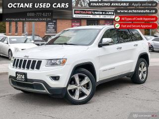 Used 2014 Jeep Grand Cherokee Limited 4x4! No Accidents! Leather! for sale in Scarborough, ON