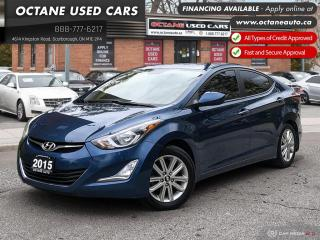 Used 2015 Hyundai Elantra Sport Appearance Accident Free! Lot of Service Records! for sale in Scarborough, ON