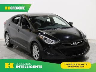 Used 2016 Hyundai Elantra GL A/C GR ELECT for sale in St-Léonard, QC