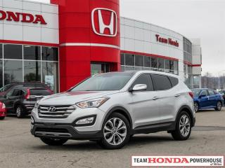 Used 2013 Hyundai Santa Fe Sport 2.0T Limited for sale in Milton, ON