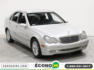 Used 2004 Mercedes-Benz C320 AWD A/C GR ELECT for sale in St-Léonard, QC