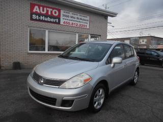 Used 2007 Nissan Versa SL for sale in St-Hubert, QC