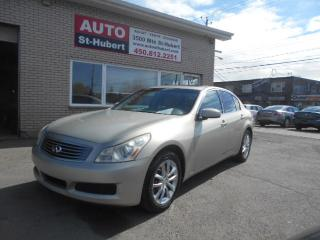 Used 2007 Infiniti G35X X for sale in St-Hubert, QC