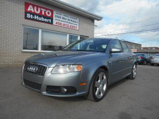 Used 2006 Audi A4 S-LINE Quattro for sale in St-Hubert, QC