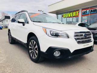 Used 2017 Subaru Outback 2.5i LTD for sale in Lévis, QC