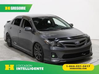 Used 2013 Toyota Corolla S A/c Gr élect for sale in St-Léonard, QC